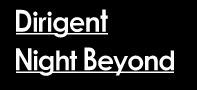 【DJ/VJ出演者募集中!】Dirigent Night Beyond  -vol.4-