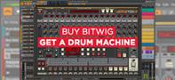【キャンペーン】Bitwig Studio買うと、ドラム音源が!!